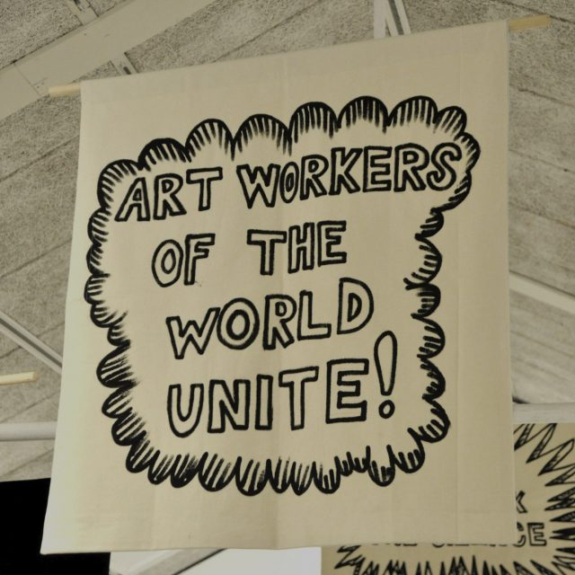 Organizing Against Precarity in the Arts - image courtesy artleaks